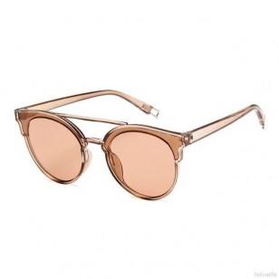 Óculos de sol redondo do estilo retro com armação grande Ref 2225
