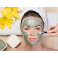 Argila 1kg natural esterelizada especial para pele facial várias cores Ref 2463