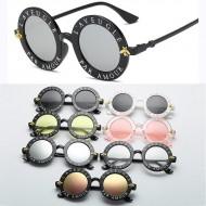 Óculos Paris luxo França feminino redondo Ref 2109
