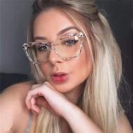 Óculos feminino blogueiras fashion tendência Ref 2187