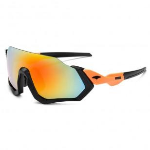 Óculos de ciclismo especial rosa feminino grife UV400