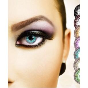 Lente de contato colorida decorativa festas e make Ref 2108