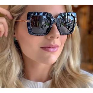 Óculos grife luxo armação 3D coleção influencers do instagram Ref 2468