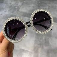 Óculos cravejado de pedras Swarovski super promoção Ref 2823