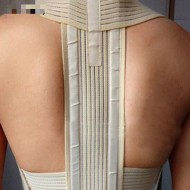 Corretor de postura cervical lombar Ref 2065
