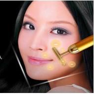 Caneta ouro vibratória rejuvenescedora facial Ref 2253
