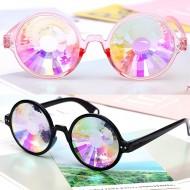 Óculos se sol colorido para rave balada eletrônica com lente especial Ref 2272