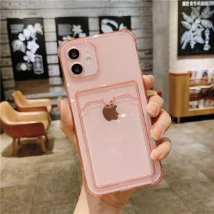 Capa IPhone 12 pro max com estojo para cartão Ref 2987