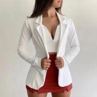 Terninho casaco feminino blazer Ref 1557