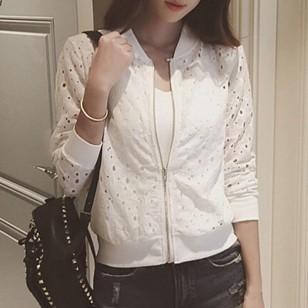 Jaqueta feminina blogueira chique delicada Ref 2454