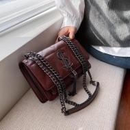 Bolsa grife luxo feminina em couro Ref 1432