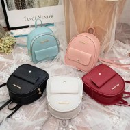 Bolsa feminina mochila com bolso frente Ref 1429