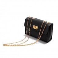 Bolsa messenger luxo com corrente Ref 1382