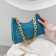 Bolsa de luxo com corrente dourada Ref 3255