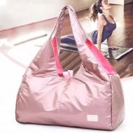 Bolsa de academia feminina fitness rosa Ref 1125