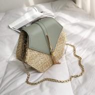 Bolsa luxo com alça de corrente Ref 1126