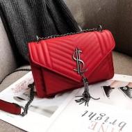 Bolsa grife luxo couro blogueiras Ref 1446