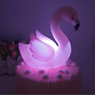 Luminária de flamingo decorativa Ref 1981