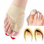 Corretor postural dedos dos pés separador dedão Ref 2600