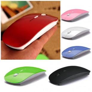 Mouse sem fio 2.4G super slim com receptor USB Ref 2266