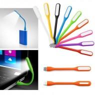 Luminária luz de led entrada USB para notebook ou celular Ref 1992