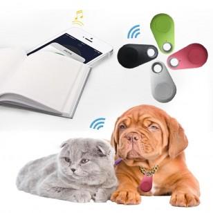 Mini GPS rastreador localizador pets gato cachorro antiperda prova d'água Ref 2173