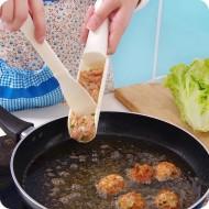 Utensílio de cozinha faz bolinhos almôndegas e frituras super prático Ref 1568