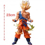Boneco 3D Dragon Ball Z Super Saiyajin Son Goku Kakarotto Ref 2723