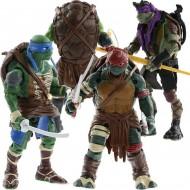 Conjunto de 4 bonecos Tartarugas Ninja original Ref 2759