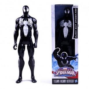 Boneco Spider Man Black Homem Aranha 30 cm original Ref 2754