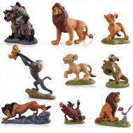 9 colecionáveis Rei Leão Disney original Ref 2764