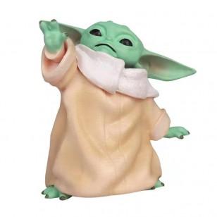 Mestre Yoda Stars Wars bebê boneco de 8 cm Ref 2721