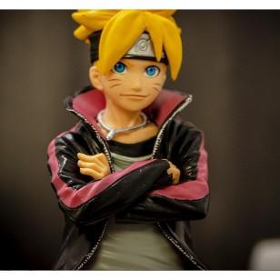 Boneco Anime Naruto Uzumaki Boruto Realístico 24 cm Ref 2719
