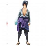 Boneco 3D Sasuke Uchiha Grandista Naruto 28 cm Ref 2720