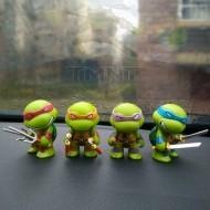 4 bonecos Tartarugas Ninja original para colecionadores Ref 2755
