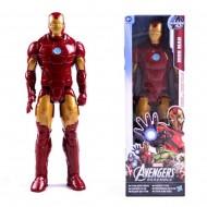 Boneco Homem de Ferro original 30 cm Marvel Heróis Ref 2751