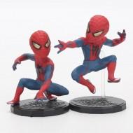 4 bonecos Homem Aranha Marvel Vingadores Ref 2732
