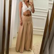 Calça Juliette pantalona larga luxo feminina Ref 2901