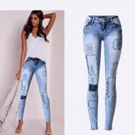 Calça jeans destroyed nova coleção Ref 1257