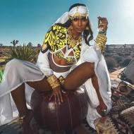 Maiô cavado manga longa beleza afro étnico Ref 2704