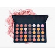 Estojo 40 cores sombra make paleta longa duração prova d'água Ref 2012
