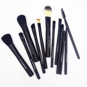 Conjunto de pincéis de maquiagem 12 peças Ref 2936