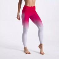 Calça legging degradê rosa com branco Ref 868