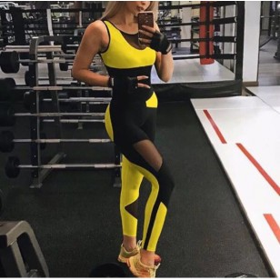 Macacão tendência fitness 2020 Ref 819