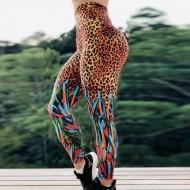 Calça legging estampa safari academia Ref 847