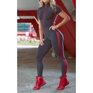 Macacão moda fitness lançamento Ref 821