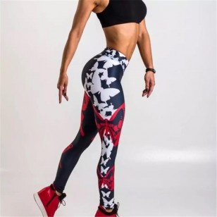 Calça de musculação legging feminina Ref 998