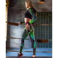 Calça legging moda litoral shop Ref 881