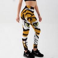 Legging cintura alta estampa de tigre Ref 3177