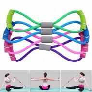 Aparelho elástico de resistência para treino musculação equipamento feminino Ref 2322